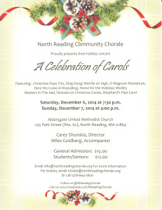 Please join us for our 35th Winter Concert